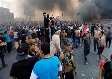 قتيل ومئات الجرحى تظاهرات تندد 152902102019074659.jpeg