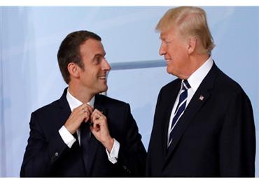 ترامب يهدد بحرب تجارية فرنسا 152903122019091803.jpg