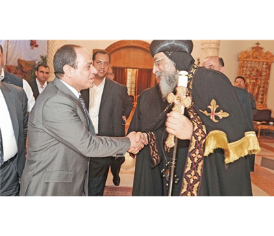 رئيس مصري يشارك قداس 152907012015081555.jpg