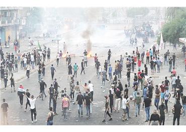 استمرار التظاهرات المطالبة بطرد إيران 152909102019124355.jpg
