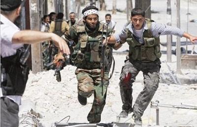 """جبهة النصرة تسلم مخيم """"اليرموك"""" 2010133.jpg"""