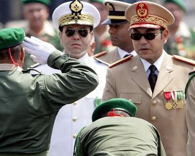 عقيد الجيش المغربي لرفضه مصافحة 2010158.jpg