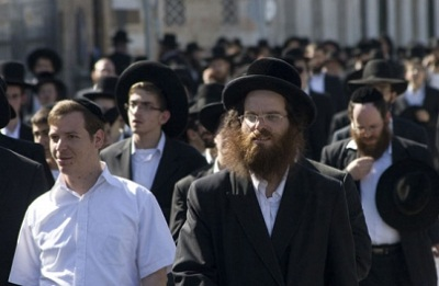 اليهود يتظاهرون القدس رفضا للتجنيد 2010366.jpg