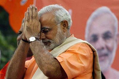 استطلاعات تظهر تقدم المتطرف الهندوسي 2011195.jpg