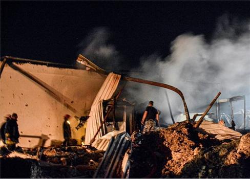 طائرات الإحتلال الإسرائيلي تستهدف مواقع 152905052021112450.jpg
